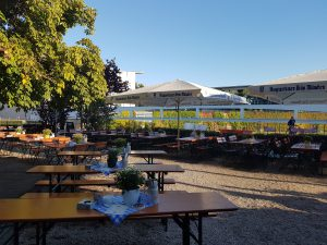 Zollpackhof Biergarten