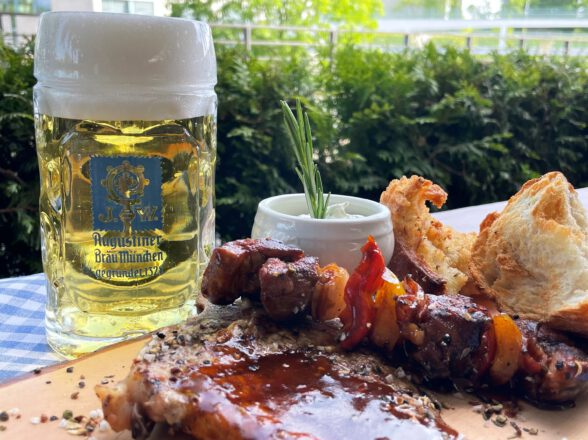 BBQ in the beer garden – South America
