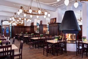 Restaurant Zollpackhof Innenansicht