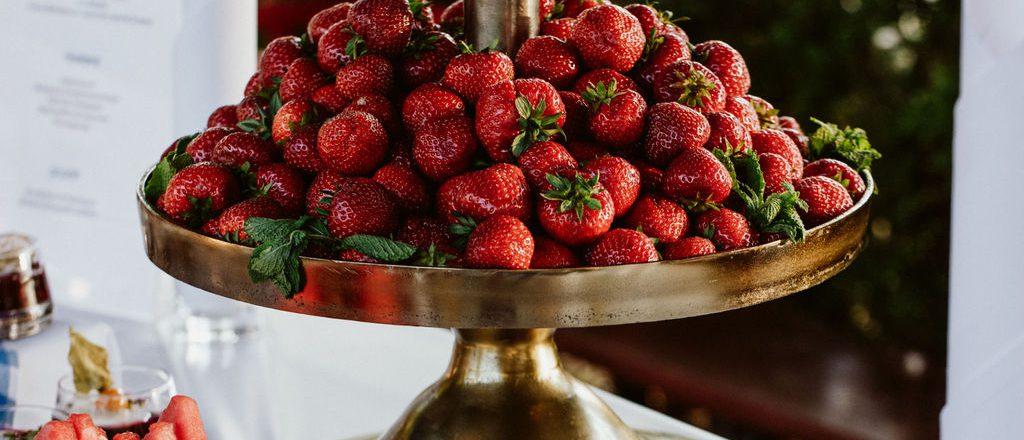 Erdbeerzeit im Zollpackhof
