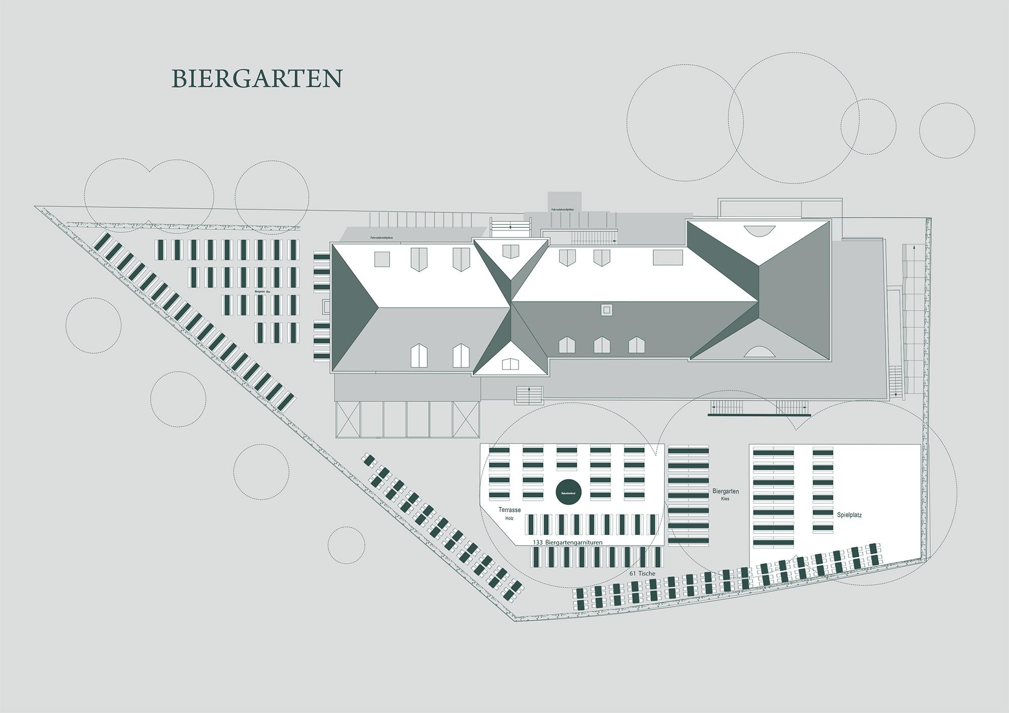 Raumplan Biergarten Zollpackhof